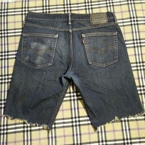 Levi's Shorts - Levi's 511 Skinny Fit Size 34 Cut Off Shorts!